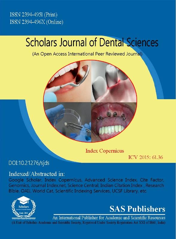 Scholars journal of dental sciences ici journals master list ccuart Images