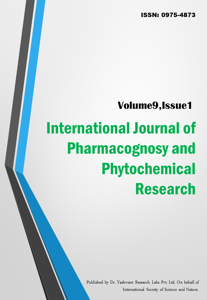 International Journal of Pharmacognosy and Phytochemical Research