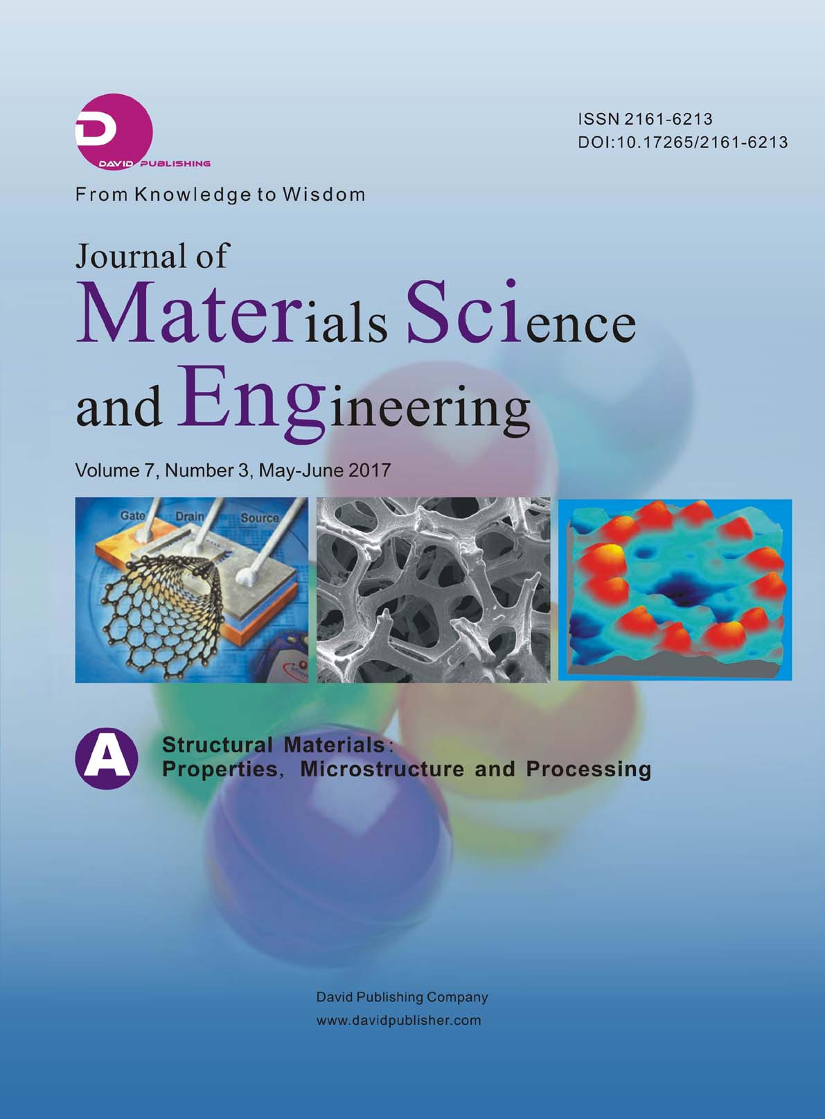 Journal of Materials Science and Engineering A | ICI