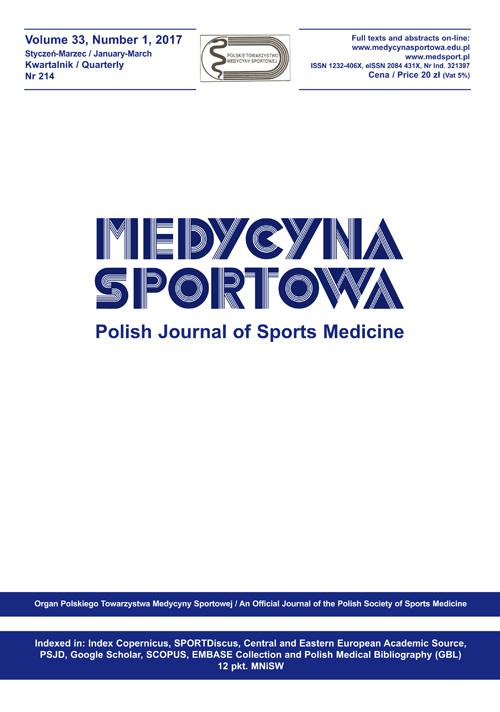 Polish Journal of Sports Medicine | ICI Journals Master List