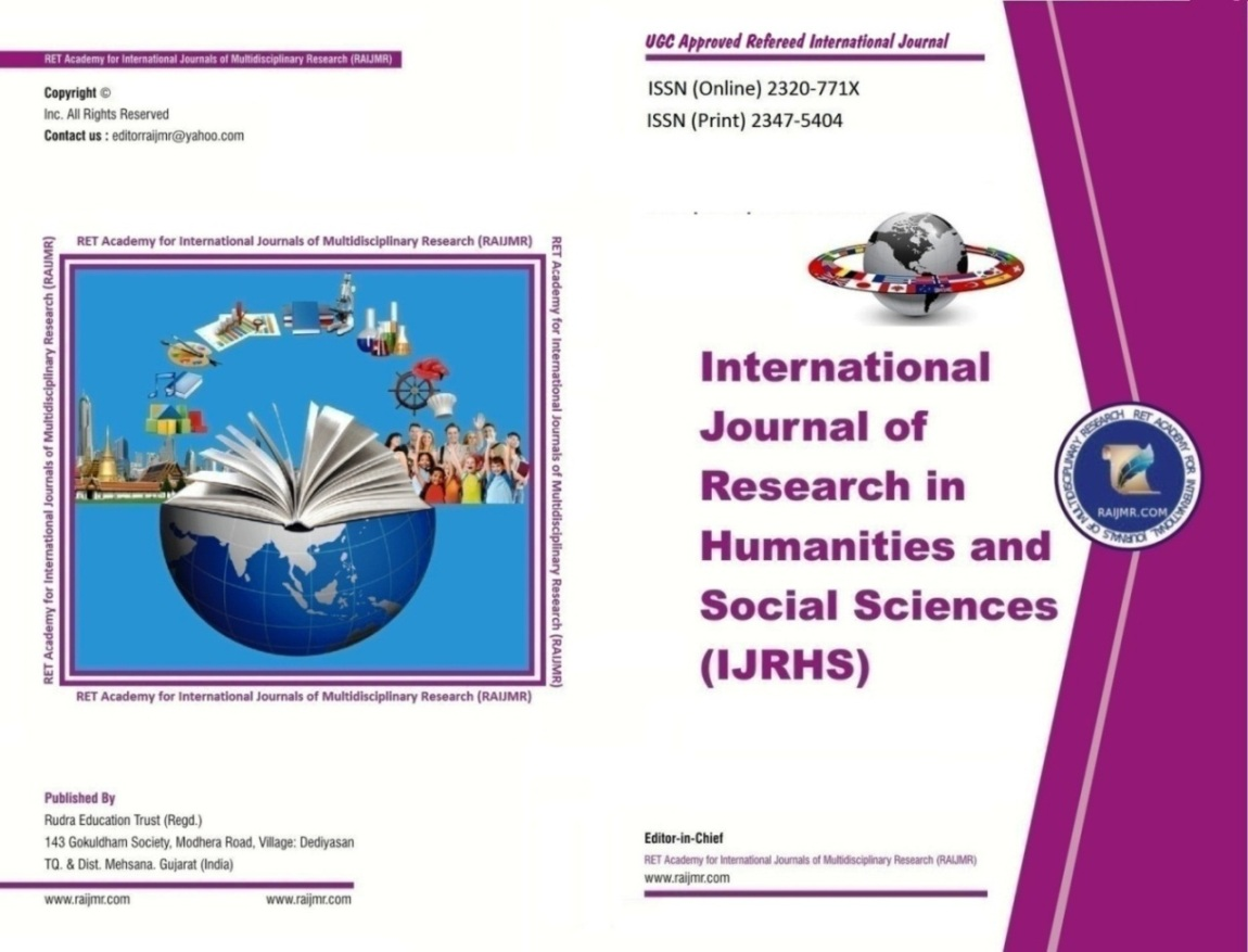 International Journal of Research in Humanities and Social Sciences