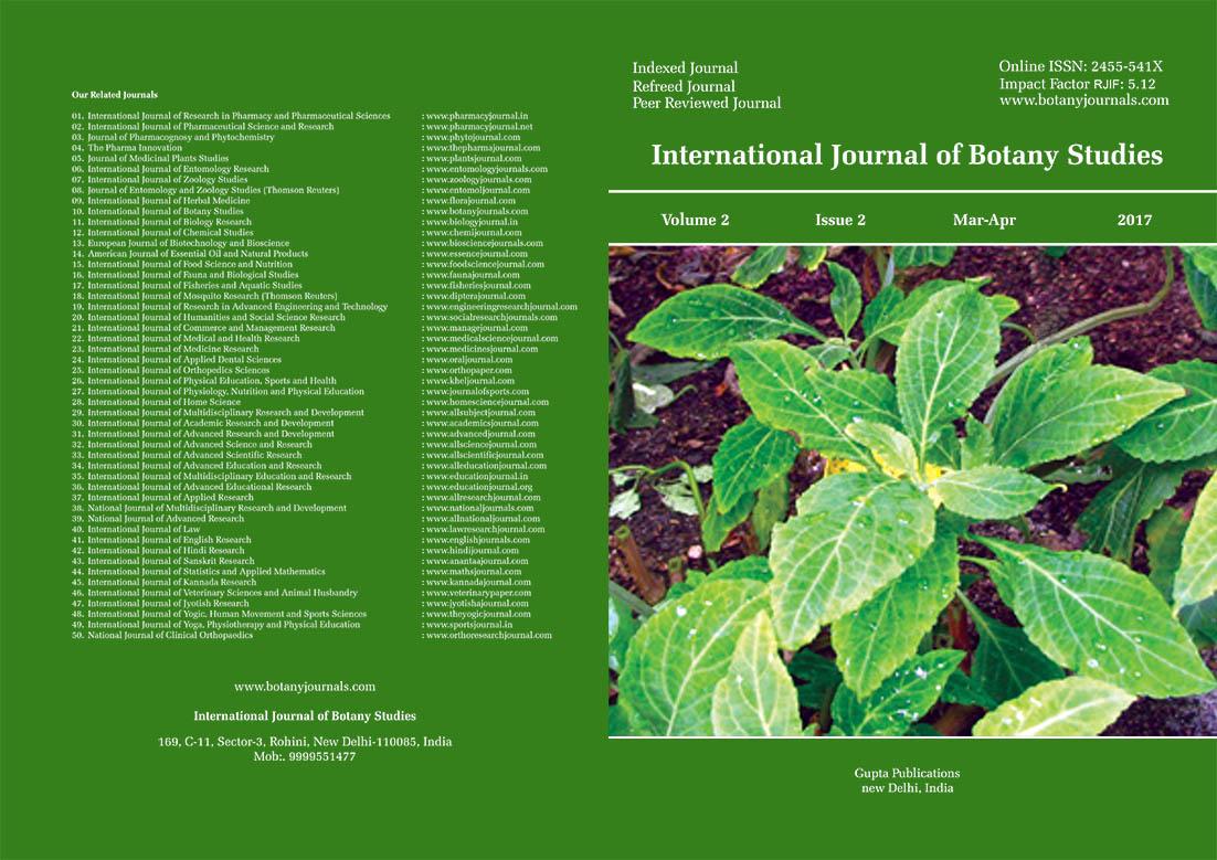 International Journal of Botany Studies | ICI Journals Master List