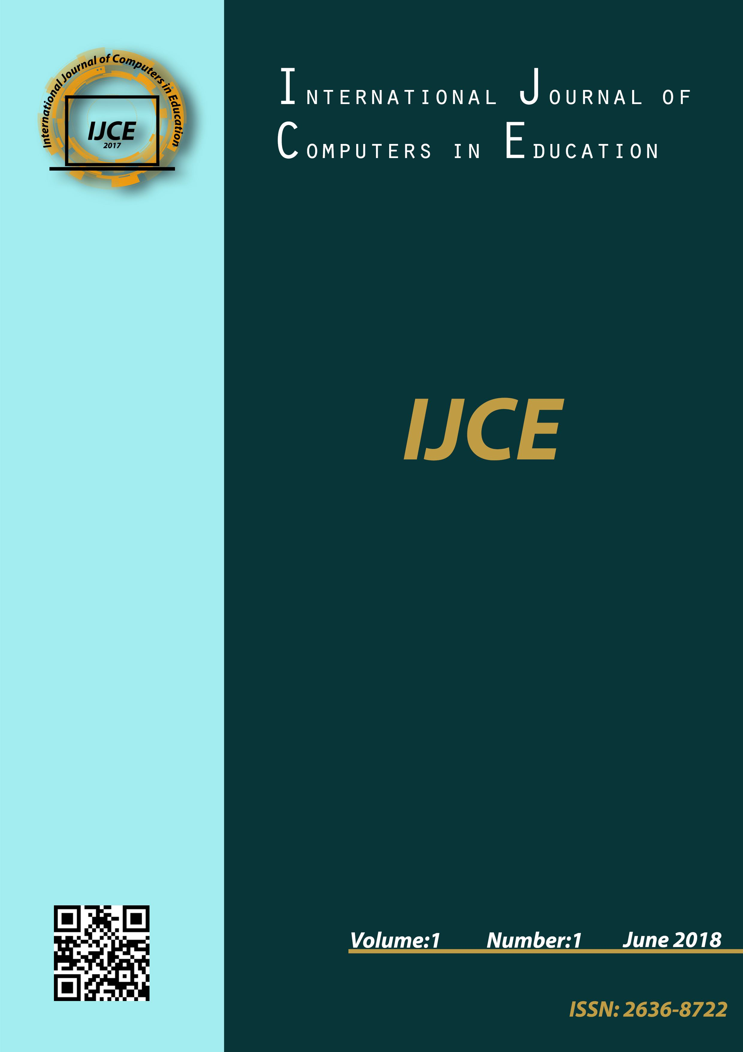 International Journal of Computers in Education | ICI Journals