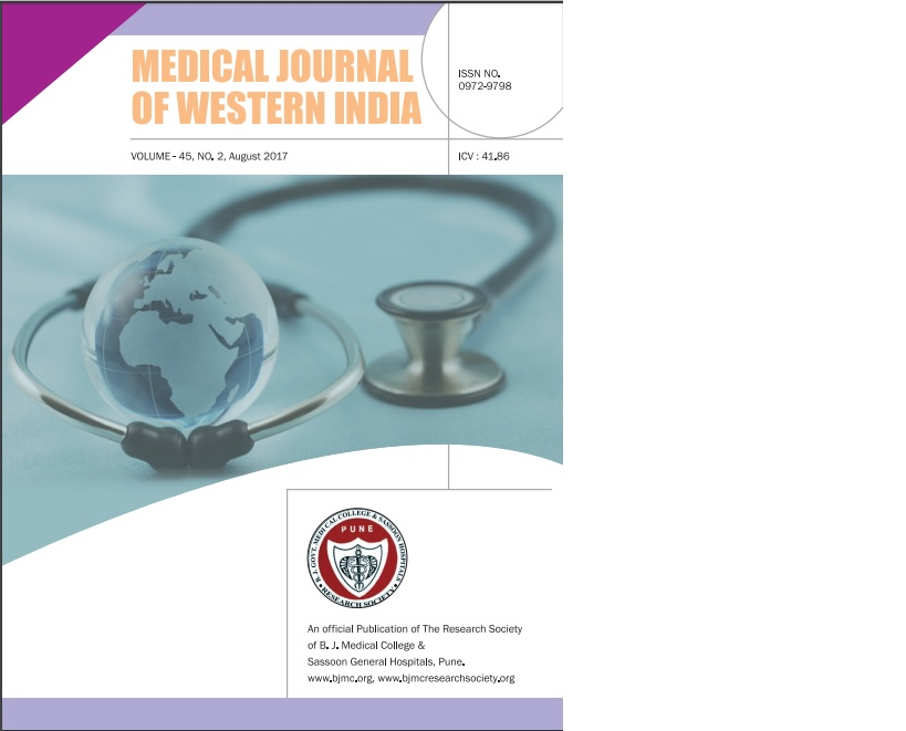 Medical Journal of Western India | ICI Journals Master List