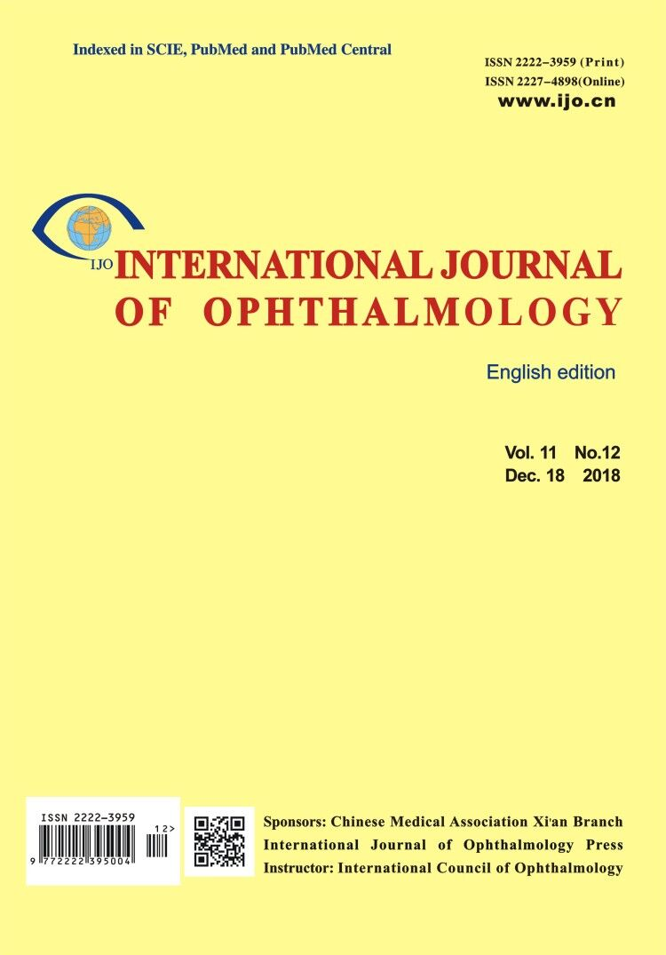 International Journal of Ophthalmology | ICI Journals Master List