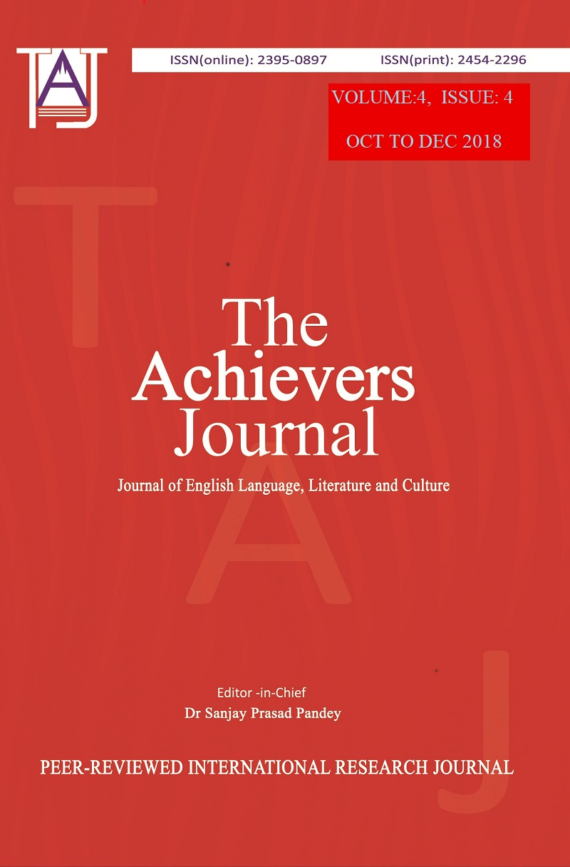 The Achievers Journal: Journal of English Language