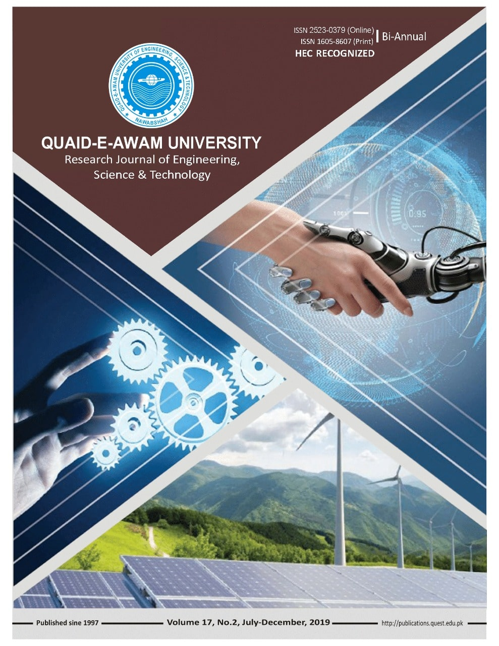 Quaid E Awam University Research Journal Of Engineering Science Technolog